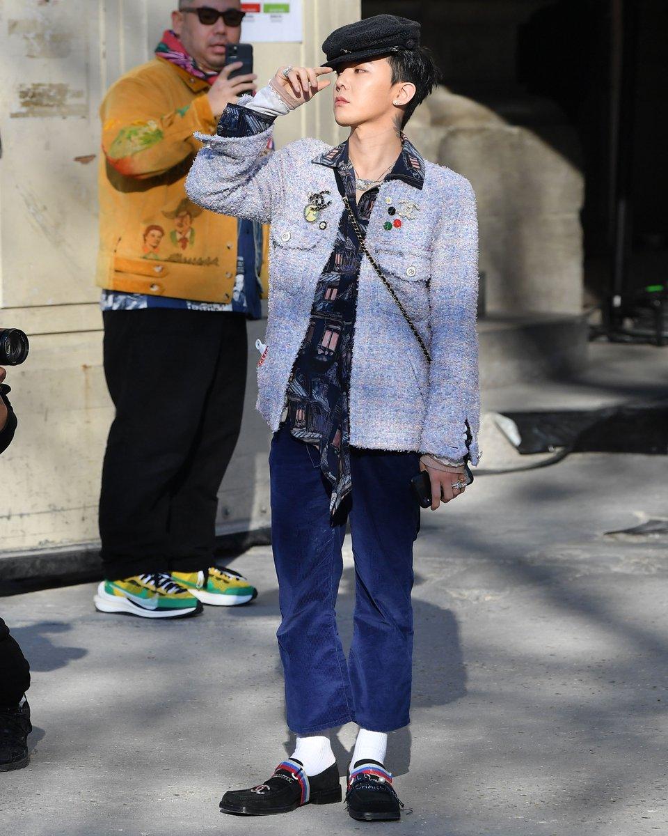 G-Dragon din Big Bang, apariție surprinzătoare la o prezentare de modă marca Chanel