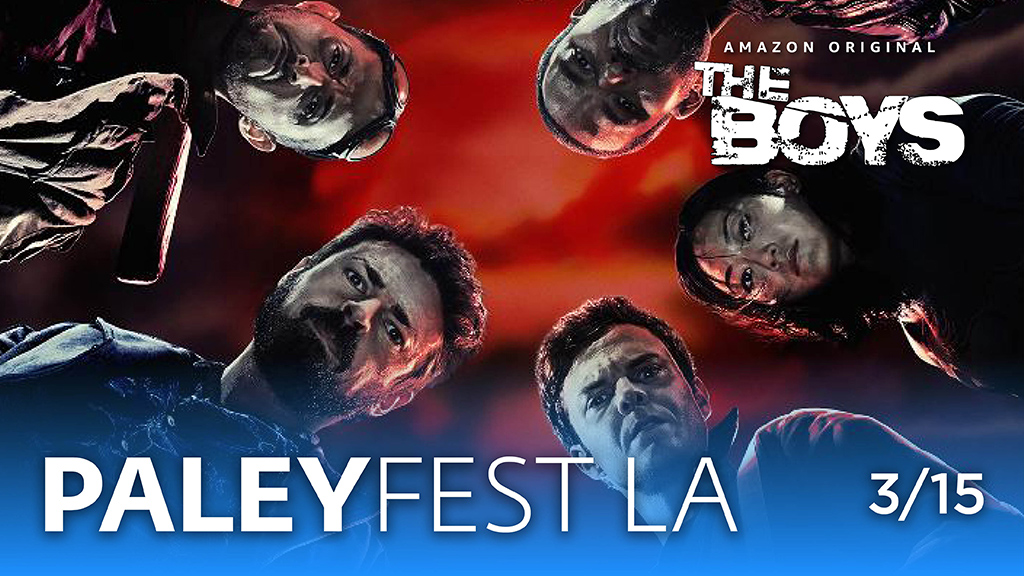 .@TheBoysTV are coming to #PaleyFest! Join @therealKripke and cast on March 15. Tix: paleyfest.org