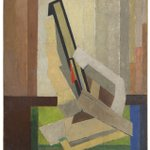 Image for the Tweet beginning: #AuctionUpdate 'Vorticist Composition' by #LawrenceAtkinson