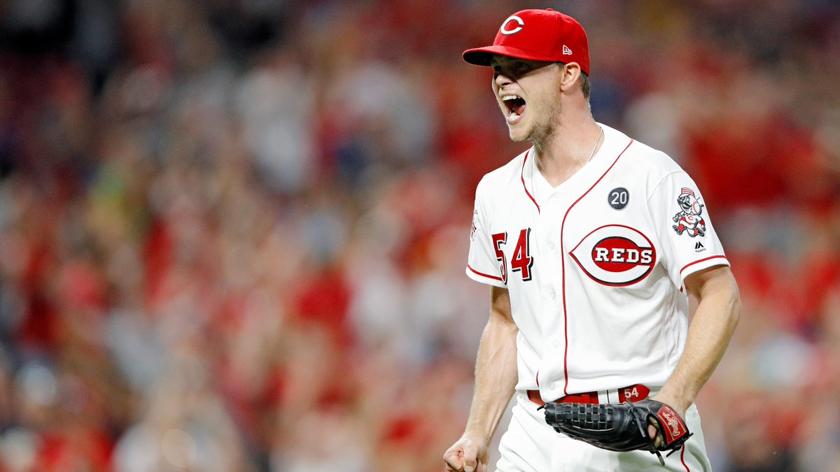 January 21, 2019: The Reds acquire RHP Sonny Gray from the Yankees and sign him to a contract extension through 2022. Gray was an NL All-Star in his first season in Cincinnati, earning 11 wins while posting a 158 ERA+, 1.084 WHIP and 10.5 K/9. #RedsVault