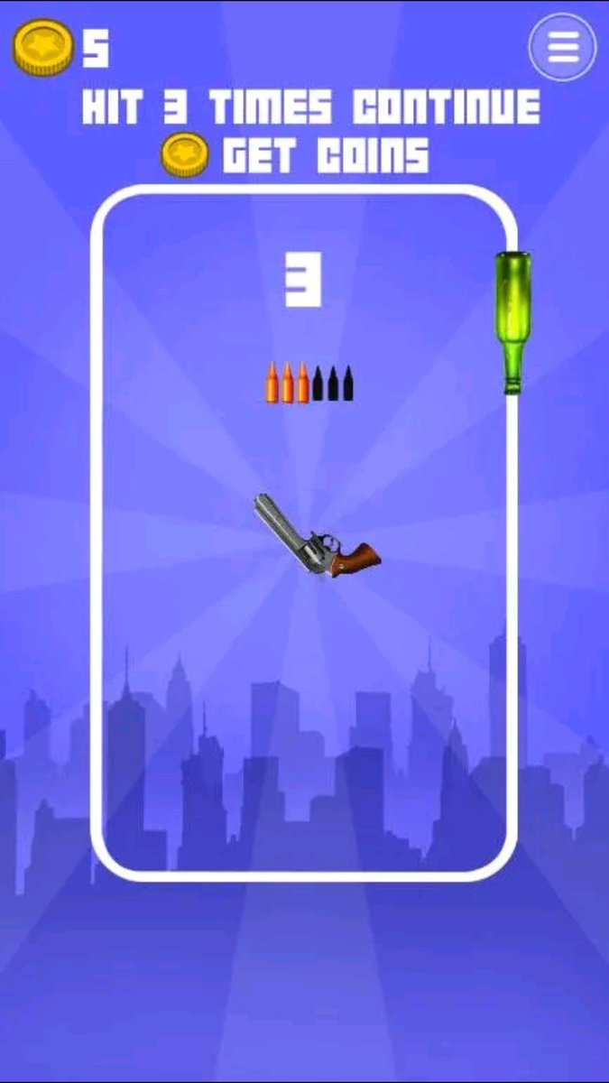 "You will be addicted playing this simple yet good game. ""Guns and Bottles""  #game #gamedev #SundayThoughts #mondaythoughts #MondayMorning @GooglePlaypic.twitter.com/vNCMXceAVz"