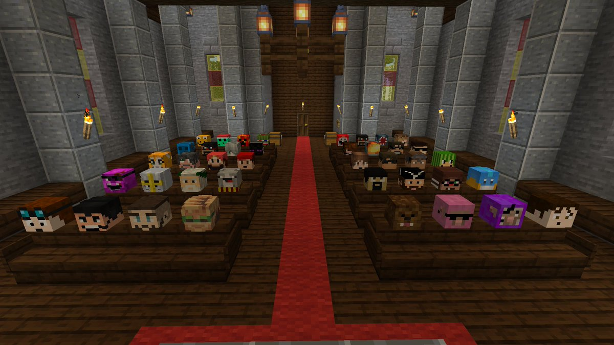 Name the #Minecraft YouTuber nostalgia challenge (with the exception of the 2nd to last row on the left side)