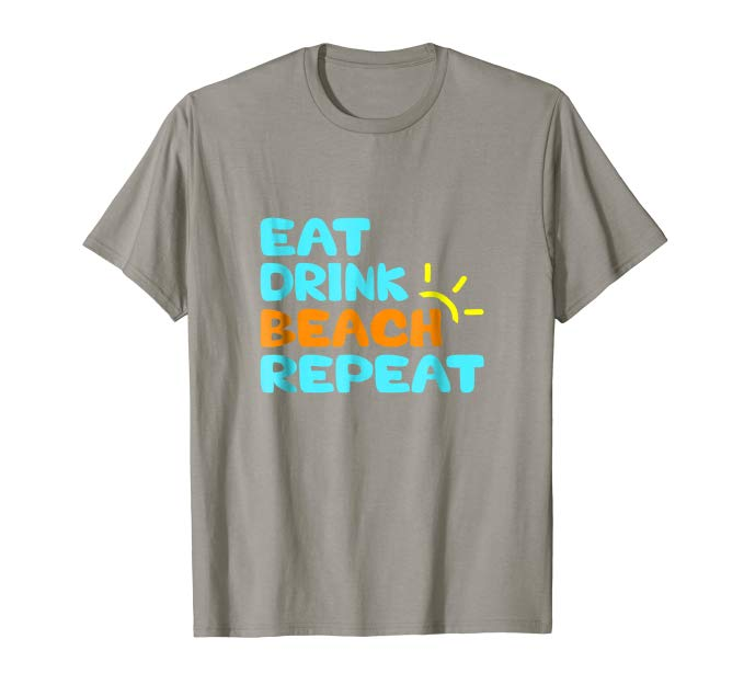 Great gift idea for anyone who loves living on island time or has discovered how to have a laptop lifestyle! Eat Drink Beach Repeat Funny Tee Shirt #beach #islandtime #paradise #laptoplifestyle https://www.amazon.com/dp/B07NJTJDJXpic.twitter.com/dIiAMbs8uG