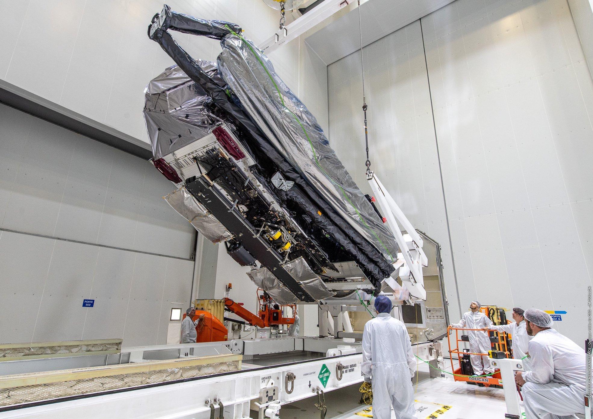 Ariane 5 VA252 (JCSat-17 & GEO-KOMPSAT-2B) - 18.02.2020  EO1E_zcWsAI3n7X?format=jpg&name=large