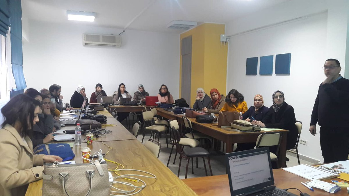 Today on the 21st of January 2020 took place the second day of training the trainees session (Confide project) at the Faculty of Medecine of Monastir: the Public health Research Module.<br>http://pic.twitter.com/ZBRkbYu9Nd