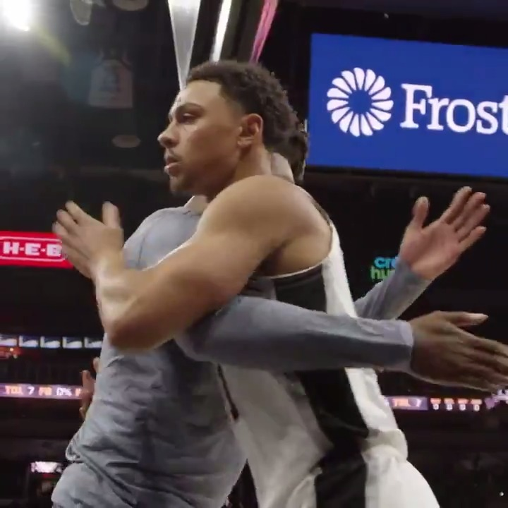 find you a friend that's always there for you like @BrynjForbes 🤗  #NationalHugDay   #GoSpursGo