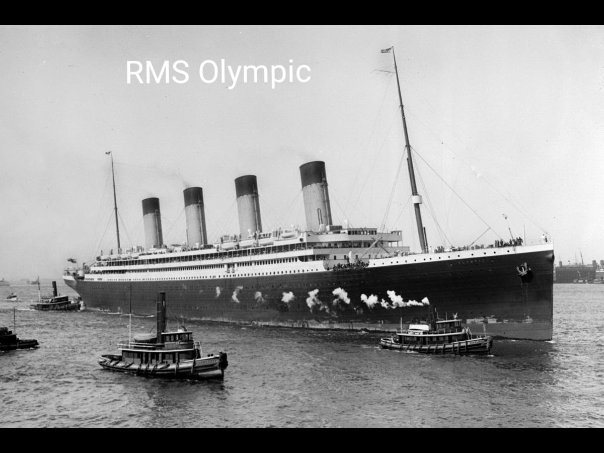 Sorry to be pedantic but @Channel4News your report on tonight's news about the Titanic, you showed a clip of a ship, that was the RMS Olympic, the Titanic's sister ship. You can tell the difference by the first class promenade see photos attached #Titanic #channel4news #channel4
