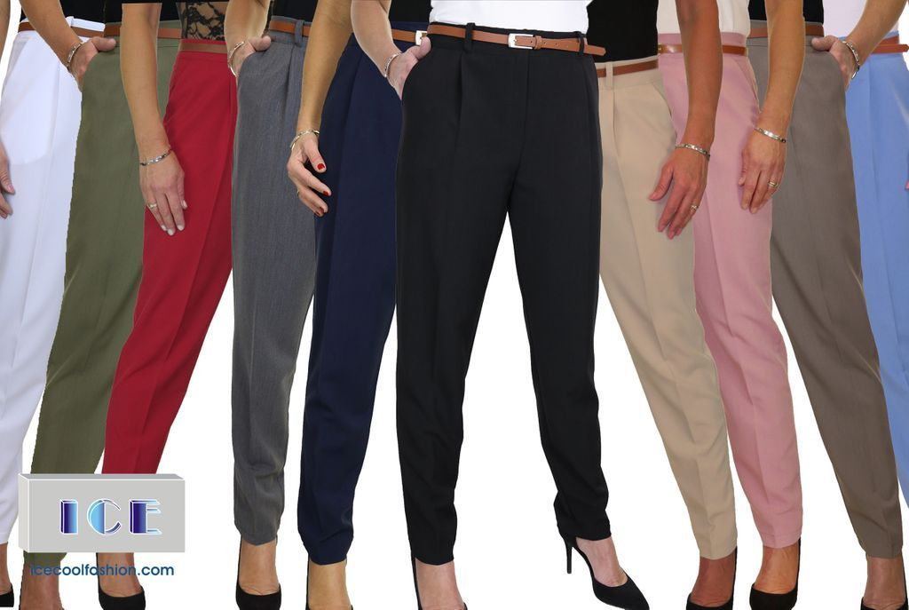 SO MANY COLOURS!😃 Which colour would you choose?😱 (🔎 search 1539 or click link to shop  ) #trousers #work #uniform #smart #belt #clothing #fashion #Fashionista #clothingline #fashionaddict #bestseller #topseller #trending #fashiontrends #womensclothing