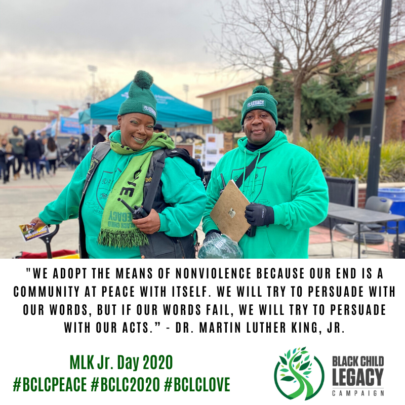 """""""We adopt the means of nonviolence because our end is a community at peace with itself. We will try to persuade with our words, but if our words fail, we will try to persuade with our acts."""" -Dr. Martin Luther King Jr.  #BCLCLOVE #BCLC2020 #BCLCPEACE #MLK365 https://t.co/FmJDmTElmF"""