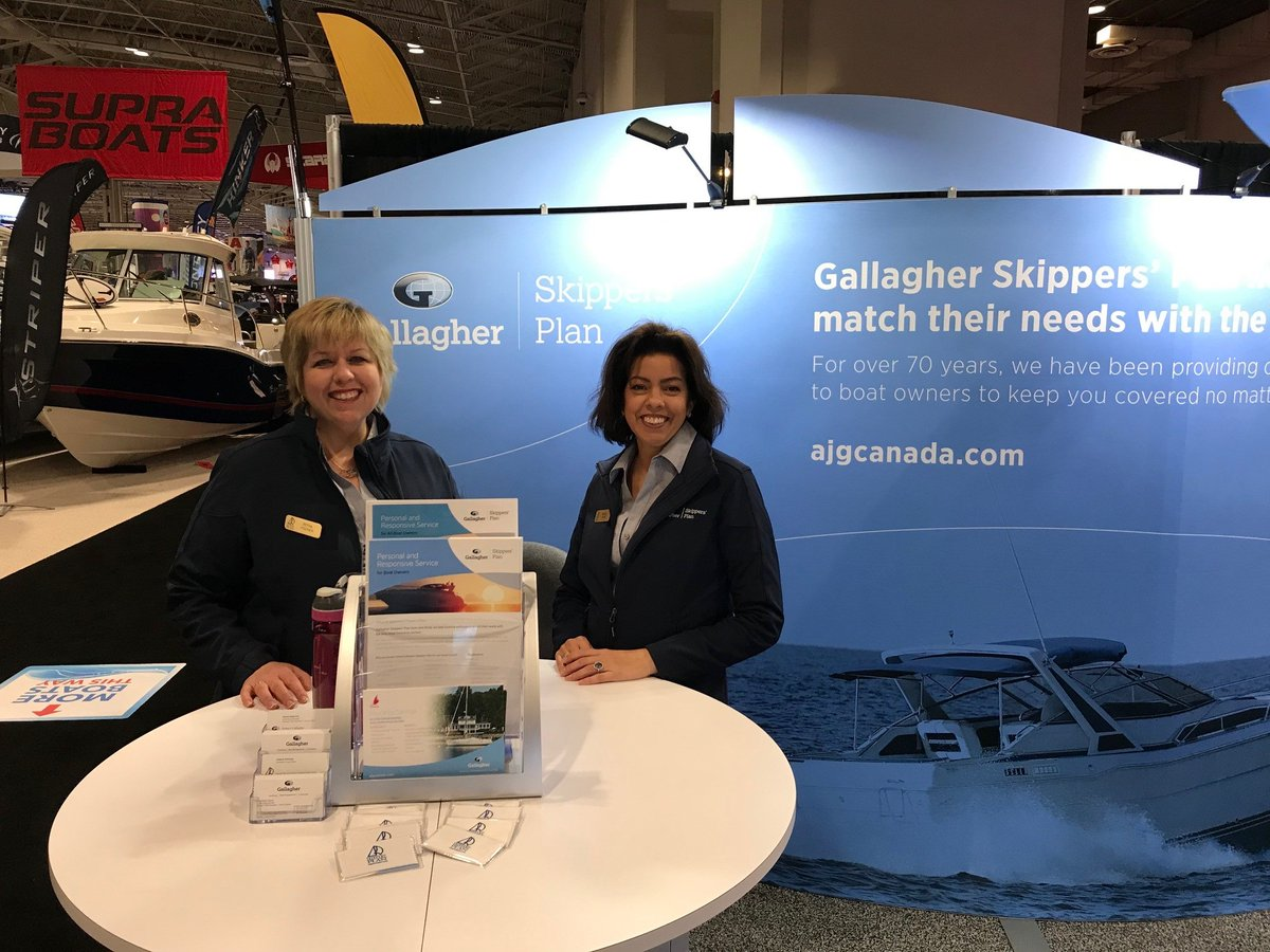Come visit Skippers Plan at the @TorontoBoatShow at booth #1753, and enter for the chance to win a pre-paid Visa Card #GallagherCanada #SkippersPlan bit.ly/37k1L2w