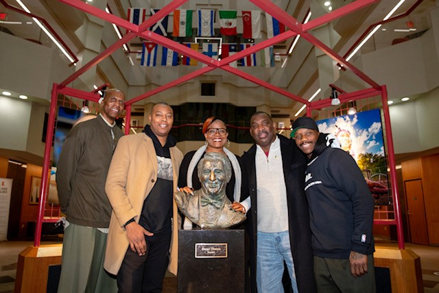 The 2020 @NCRMuseum Sports Legacy Award recipients visited @StJude during their weekend in Memphis. #MLKDay #NBAVoices