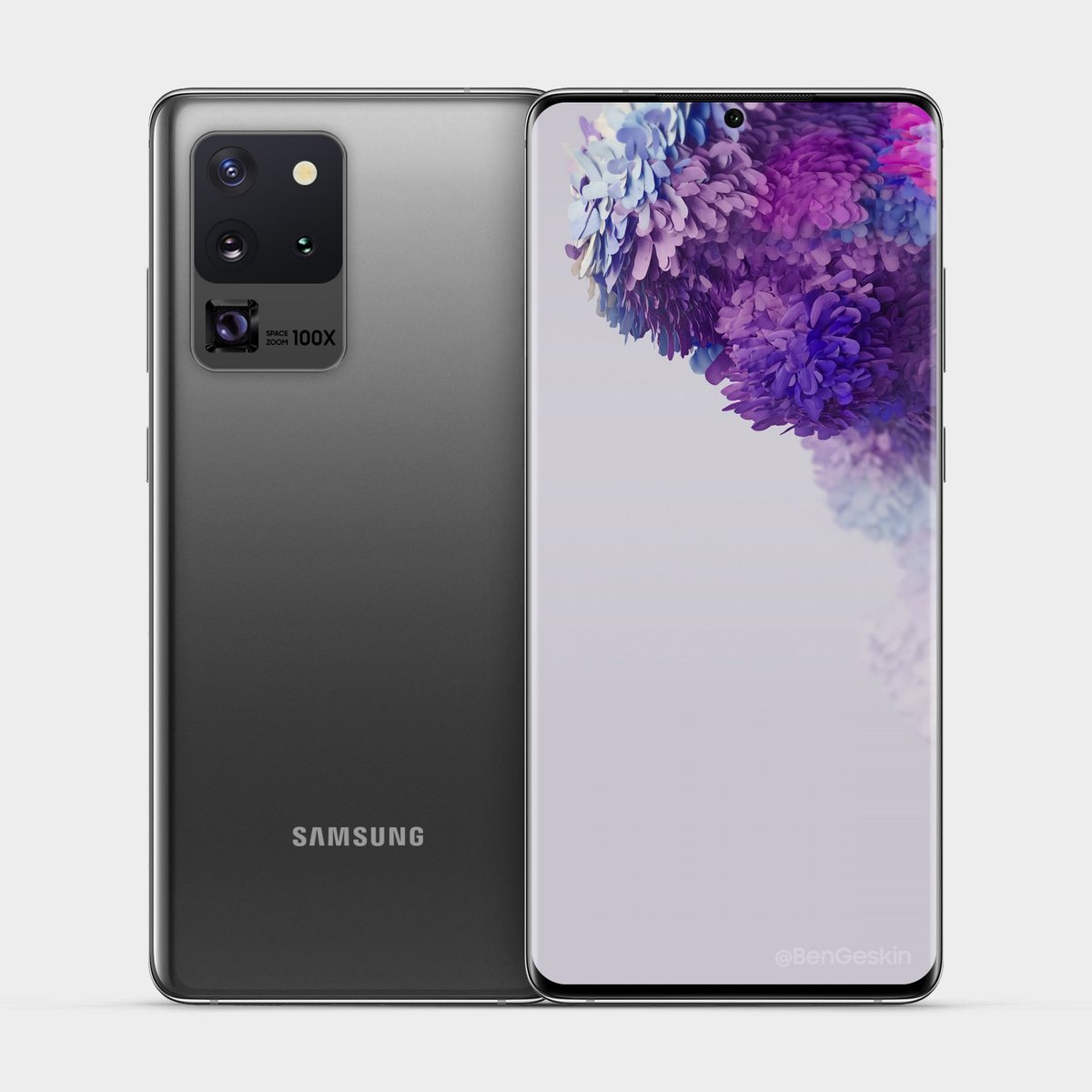 Most Accurate Picture of #SamsungGalaxy S20 & Co. #Samsung #GalaxyS20 #S20 #galaxys20ultra #galaxys20plus #SamsungUnpacked #Unpacked #Unpacked2020 pic.twitter.com/UBwZj5T1my