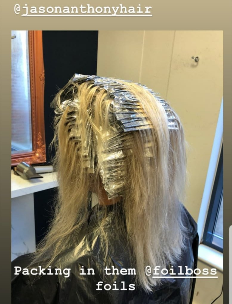 Wow... how neat are these foils. #jasonanthonyhair #hairfoil #babylights #hairstylist #hairsalon #foilboss pic.twitter.com/VHMj0xhQtM