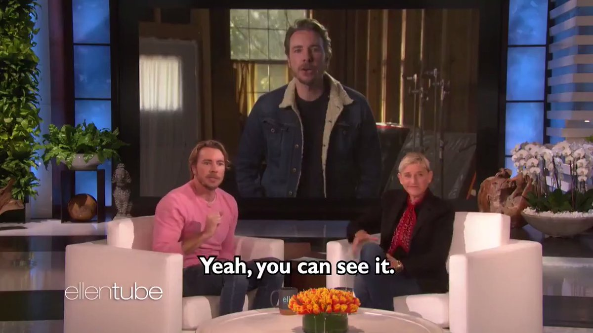 .@DaxShepard  wasn't going to let a little lip surgery stop him from being on Jeopardy!.