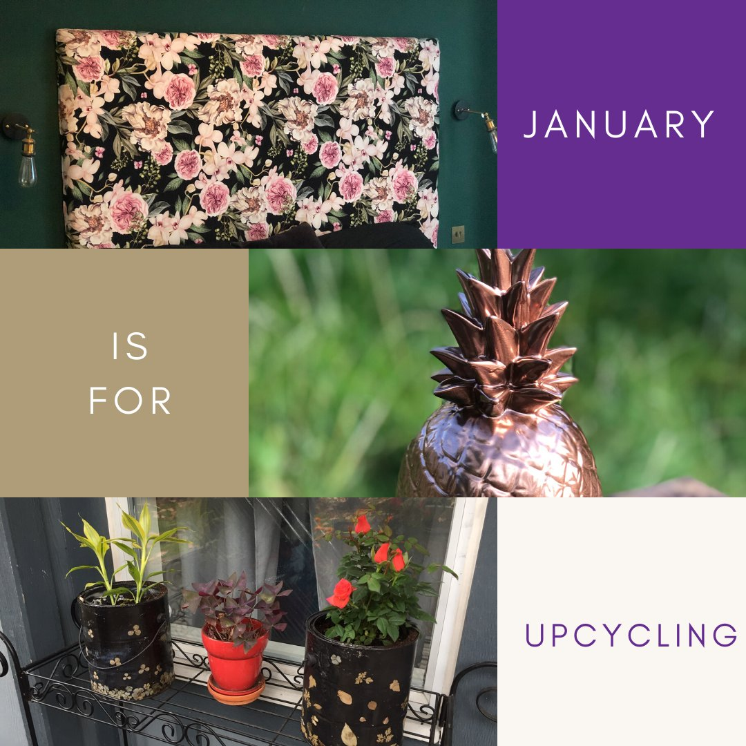 It's the week before payday in the month after Christmas....bet you aren't going on a spending spree.  So how do you cheer yourself up when you can't afford to go out?  You use what you have to #upcycle the little world that is your home of course.    https://soo.nr/E5jS #diypic.twitter.com/TG62SUFoZ2