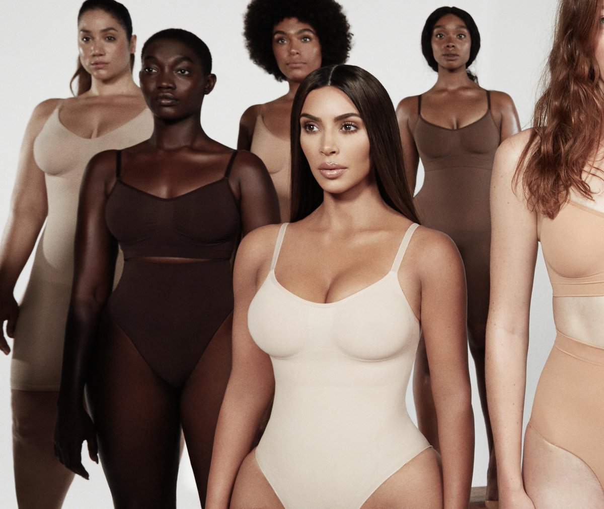 Coming soon: SKIMS. Created by @KimKardashian, @skims is the new, solution focused approach to shape enhancing undergarments and it's launching exclusively at Nordstrom on February 5. Stay tuned for more details: http://bit.ly/37e7HtO