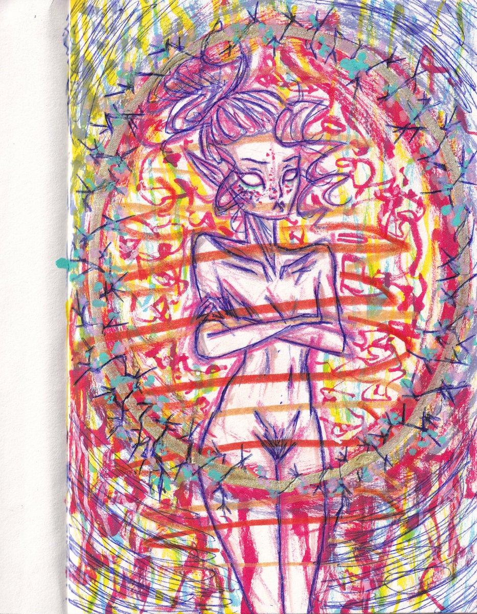 #drawing #girl #sketch #sketchbook