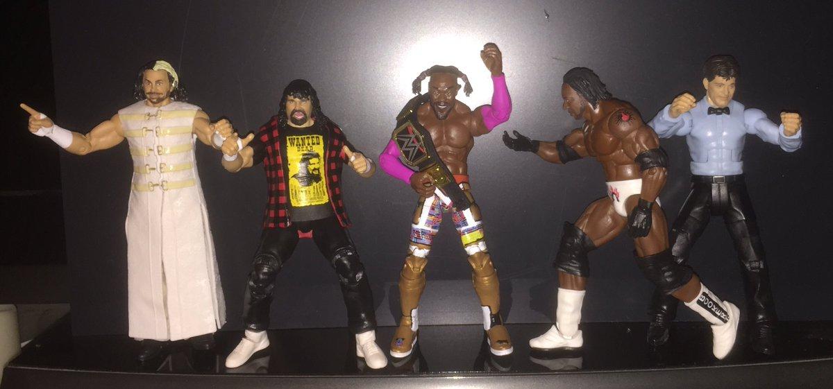 #WrestleMania Elites