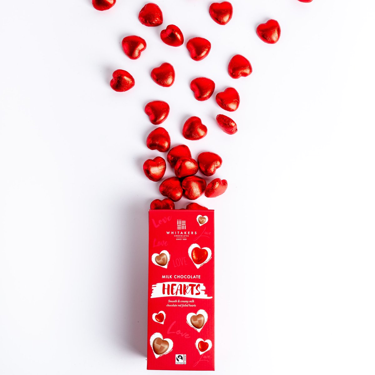 NEW NEW NEW....  #chocolate #Fairtrade #ValentinesDay #chocolatehearts #givelove #givewhitakerspic.twitter.com/HVsBSHTOyi