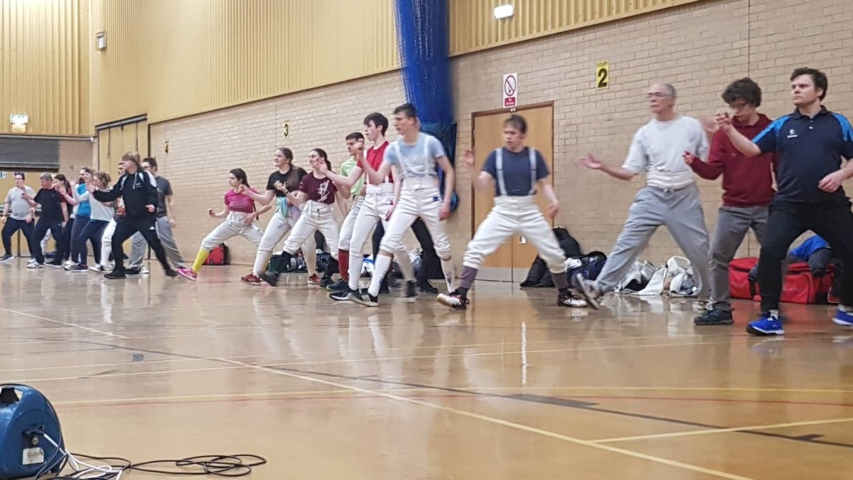 So many hard working fencers at our senior session tonight. Great work guys. You're all our favourite.   #fencing #fencingclub #foil #épée #epee #sabre #saber #Nottingham #escrimepic.twitter.com/Do8dwVY7xW