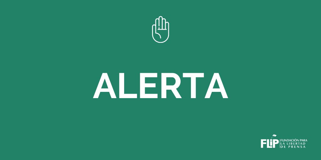 #AlertaFLIP | La FLIP rechaza la intimidación y obstrucción al trabajo periodístico de la que fueron víctimas tres periodistas de medios nacionales mientras cubrían la jornada de manifestaciones sobre la avenida Ferrocarril en la ciudad de Medellín. #Paro21E