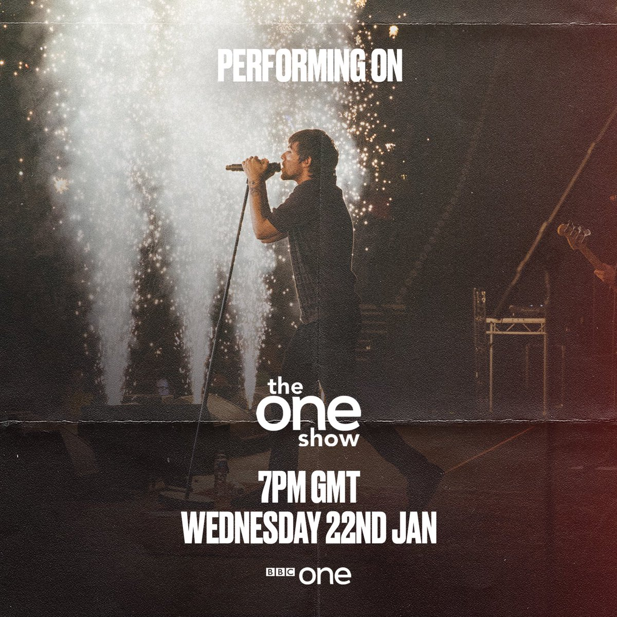 Excited to be performing on @BBCTheOneShow tomorrow. Tune in from 7pm !
