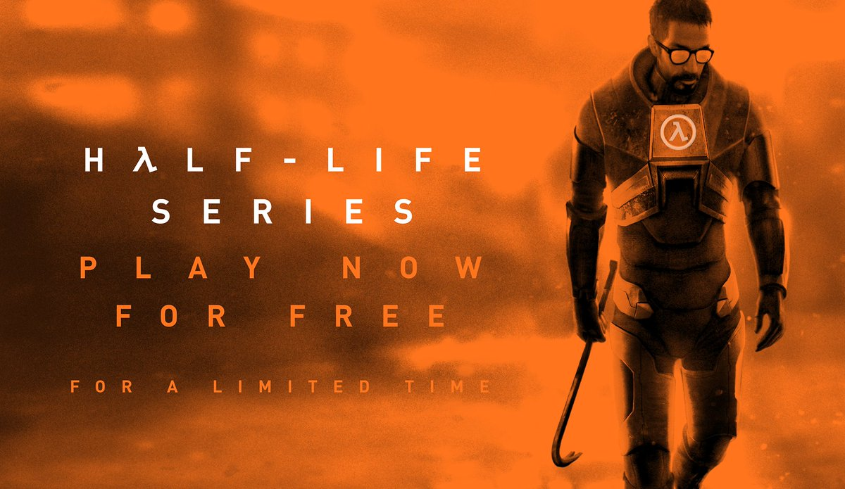 Half-Life: Alyx is coming in March, and we're celebrating early by making all past games in the Half-Life series free to play for Steam users, from now until the day Half-Life: Alyx launches!