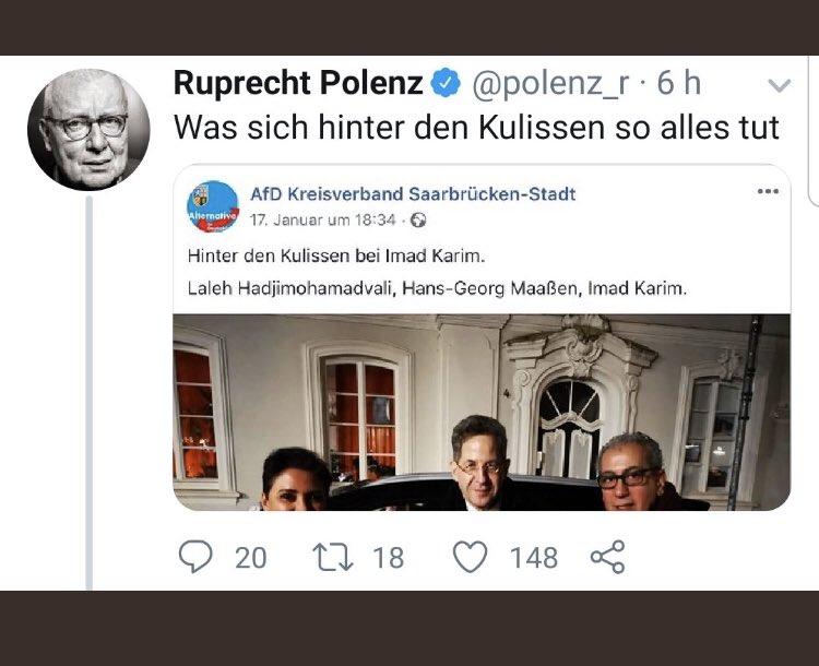 Die Videoshow mit der Eierlikör Wachtel Erika interessiert mich nicht !  Begreifen Sie endlich, dass SIE allein eine Tatsache hoch gejazzt haben, nur um Herrn Polenz zu schaden !  So wie sie es die gesamte #Werteunion mit allen #CDU Politikern, die nicht #AfD nah sind tut !pic.twitter.com/EZkEQgUKth