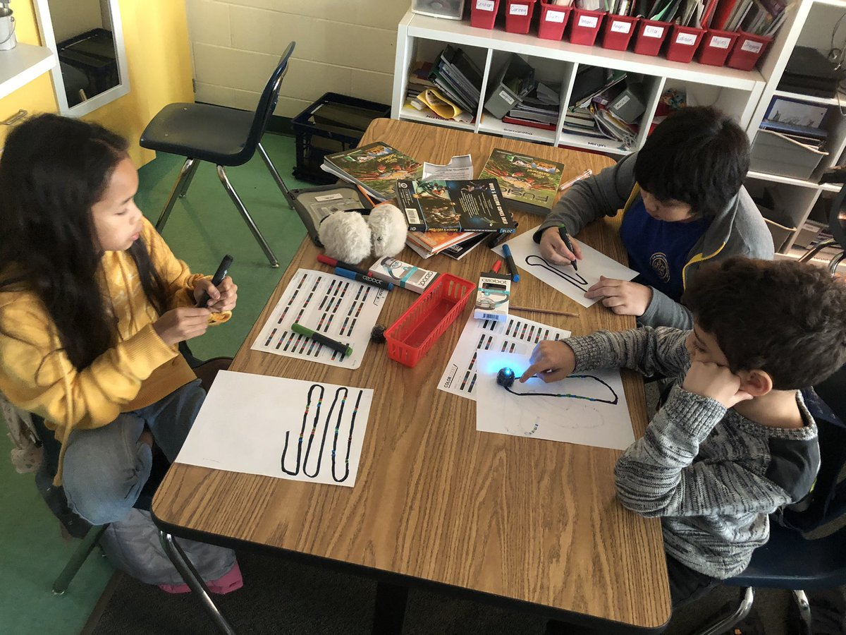 We had fun today in YES Club today coding with Ozobots!  <a target='_blank' href='http://twitter.com/Ozobot'>@Ozobot</a> <a target='_blank' href='http://twitter.com/APS_ProjectYES'>@APS_ProjectYES</a> <a target='_blank' href='http://twitter.com/BarrettAPS'>@BarrettAPS</a>  <a target='_blank' href='http://search.twitter.com/search?q=KWBpride'><a target='_blank' href='https://twitter.com/hashtag/KWBpride?src=hash'>#KWBpride</a></a> <a target='_blank' href='http://twitter.com/KWBTercero'>@KWBTercero</a> <a target='_blank' href='https://t.co/gIy4AQkO7a'>https://t.co/gIy4AQkO7a</a>