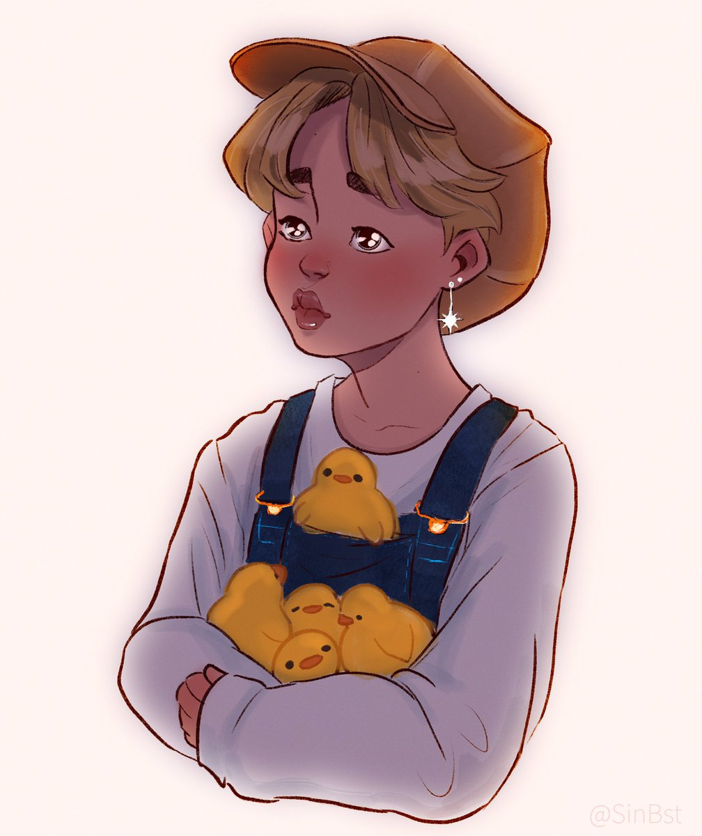 """Hyung can we keep them, please?""   #Jimin #btsfanart <br>http://pic.twitter.com/sv6i2TXnz7"