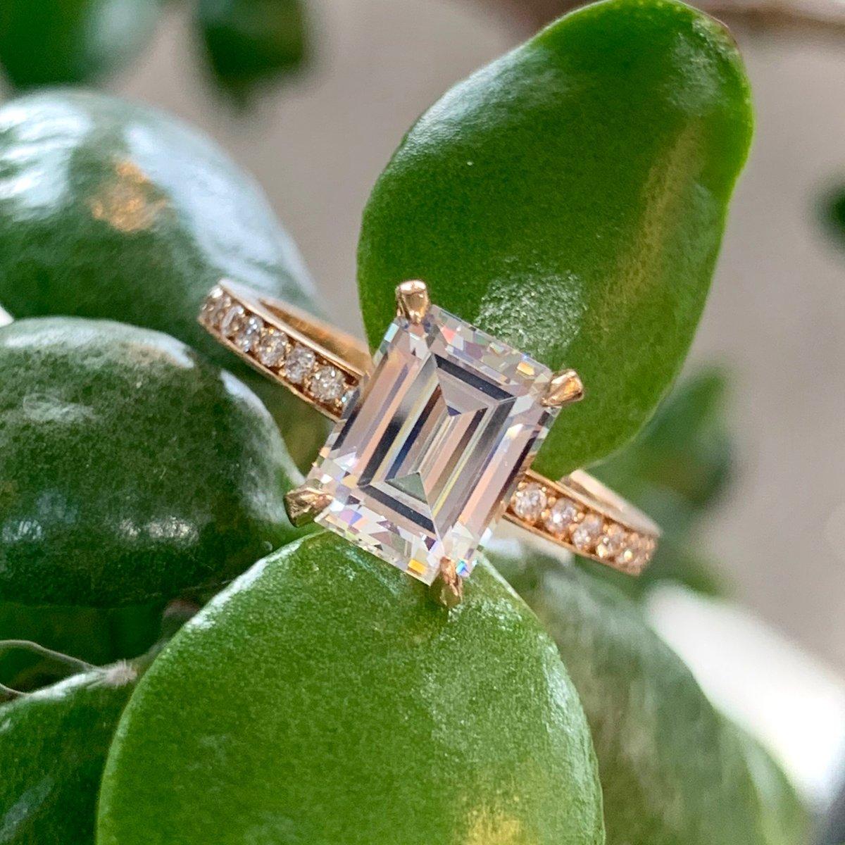 What do you think of the emerald cut for your center diamond ?  • #AZZI #lansing #eastlansing #michigan #okemos #brilliant #realisrare #diamond #okemosmi #mi #engagementring #weddingring #love #diamond #diamonds #diamondring #lovelansing #LoveAzzi  #sayyes #yespic.twitter.com/YoFfIDqbxh