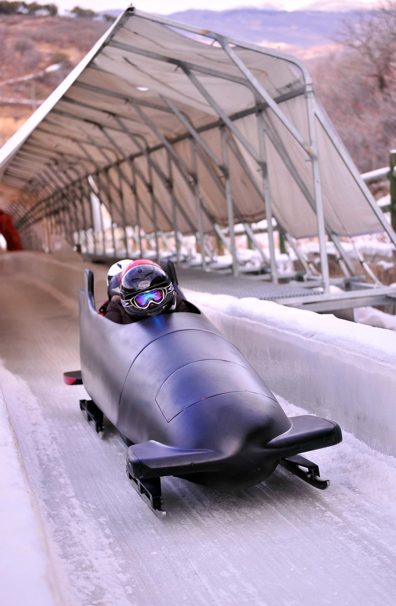 It is time to start tackling that bucket list - why not start with a bobsled ride? utaholympiclegacy.org/product/winter…