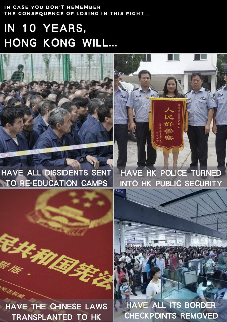 In view of the #HKPoliceBrutality and all lies from the entire HKGov to silence our voices, we can't expect prosperity in #HongKong! We might lose our unique identity as #HongKongers and our freedoms sooner than 2047. Totalitarian #CCP can't be trusted! #StandWithHongKong