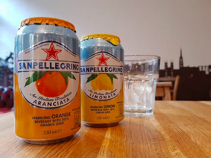 Refreshing you with a cool, zesty SanPelligrino   #Edinburgh #coffeeshop <br>http://pic.twitter.com/VBNz2Fmky5
