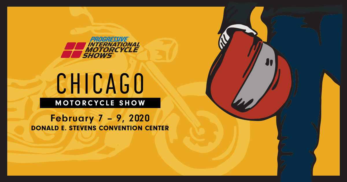 From Feb 7th to 9th, at the Donald E. Stephens Convention Center, is this year's Chicago Motorcycle Show! Be sure the stop by the Cycle Gear Mega Booth! There will be gear from the top brands that you love and special offers from Cycle Gear!   For tickets: https://t.co/MKdJEfwMAj https://t.co/NAwDUmpOWw