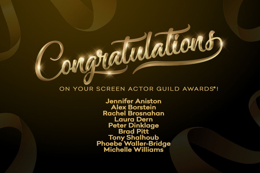 Congrats to these #Emmys winners on their @SAGawards from Sunday night!<br>http://pic.twitter.com/azW5vC0zaq