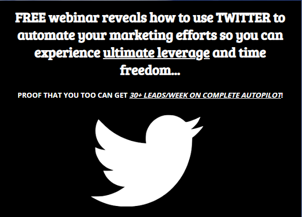 Free Webinar reveals how to use TWITTER to automate your marketing efforts and experience #ULTIMATE #LEVERAGE and time freedom -  http:// bit.ly/2F4MQgy    <br>http://pic.twitter.com/N38TnQCxRn