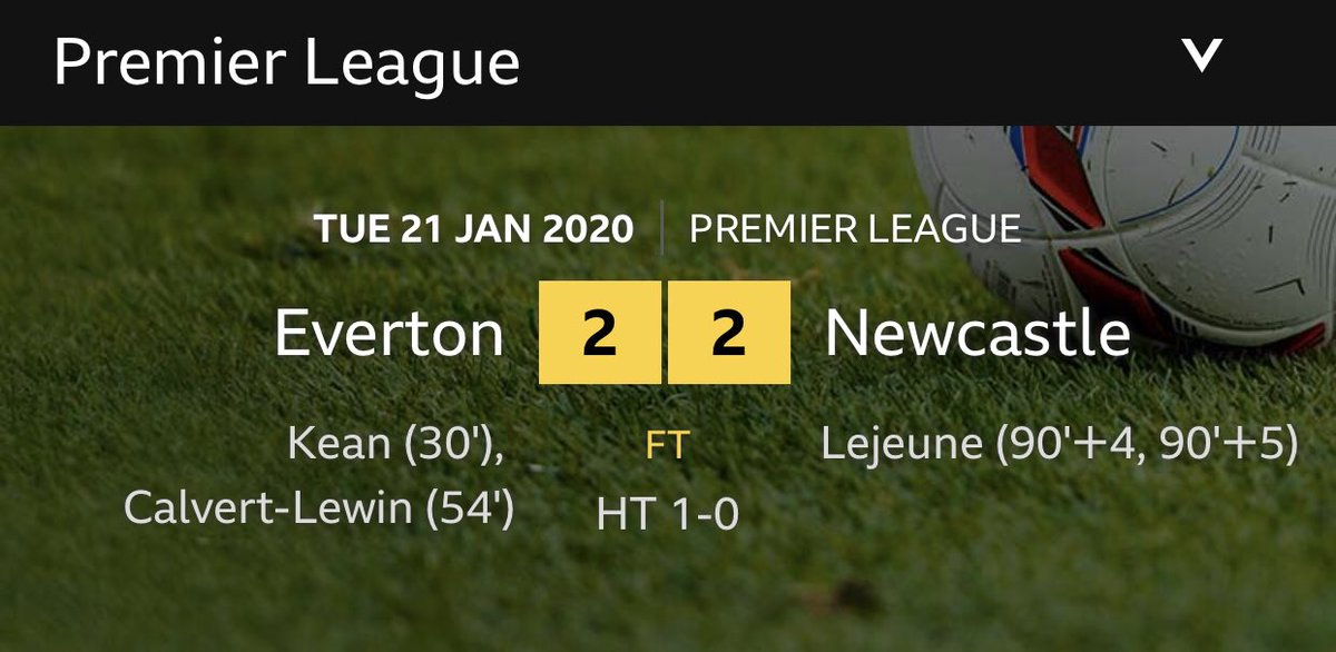 Bet the fans that left on 93 mins are arriving home to a shock #EVENEWpic.twitter.com/0MmNoepVqN