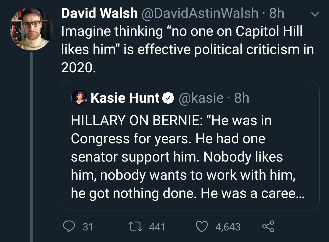 """Imagine thinking you're a """"smart person"""" and falling for this beltway-media shiny object distraction while Trump slowly establishes a dictatorship. pic.twitter.com/2zX1hvxz9i"""