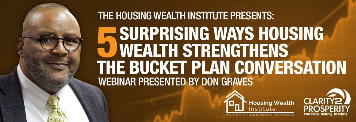 .@AskDonGraves joins us for an exclusive webinar! Register for the January 29th webinar today and learn how reverse mortgages and #TheBucketPlan can work together and help your clients.  Register today >> http:// bit.ly/38wSyE3    <br>http://pic.twitter.com/0pKVBdPJgY