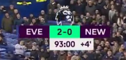 How am I going to tell my kids that Everton didnt win this game?