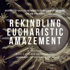 1 Week Away! Begin Your #NewYear with Kathleen Beckman - Join Us for Rekindling Eucharistic Amazement Webinar  https:// conta.cc/2G92o2Y    <br>http://pic.twitter.com/Z96Vsidvs5