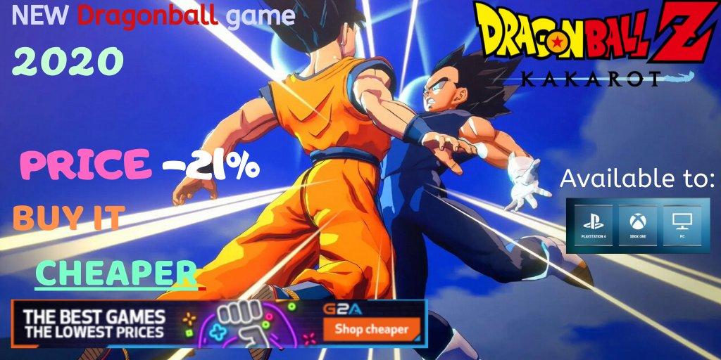 "NEW Dragonball game 2020 ! ""Kakarot"" PC|PS4|XBOX Buy it cheaper -21%: http://bit.ly/cheappcgamesHALFPRICE…   #dragonball #dragonballsuper #dragonballgt #dragonballkai #DragonBallZKai #DragonBallHeroes #dragonballs #DragonballFighterZ #dragonballxenoverse #dragonballzbattleofgodspic.twitter.com/fZjDijZFeh"