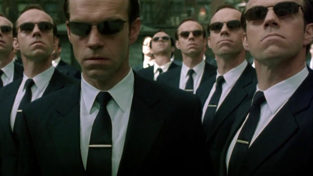 Hugo Weaving, who portrays The Matrix franchises ubiquitous Agent Smith, will not return for The Matrix 4 due to scheduling conflicts. bit.ly/2G9LeCb
