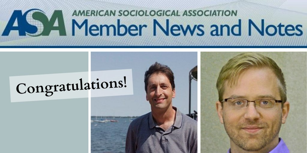 "A paper by @EricGrodsky and @jaymes_pyne was featured in @ASAnews's Member News and Notes!  Read ""Inequality and Opportunity in a Perfect Storm of Graduate Student Debt"" here:  https://www.asanet.org/sites/default/files/attach/journals/jan20soefeature.pdf …pic.twitter.com/7UM1FZnjbJ"