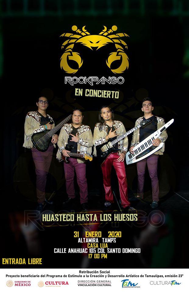 ¡El sonido rocksteco presente en #Altamira! 🔥🤘🏻Acompaña a los beneficiarios del #PECDA en la #Emisión23 en #Tamaulipas. ¡Acá te esperamos!