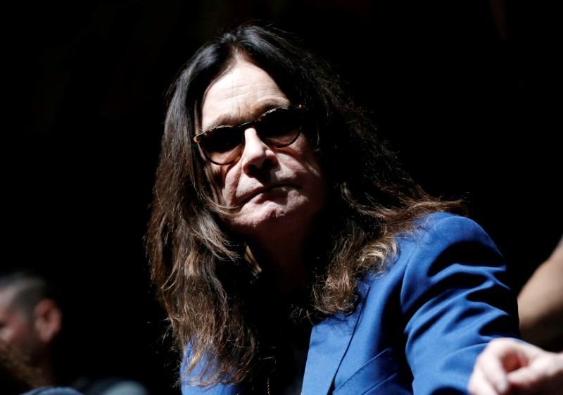 British rocker Ozzy Osbourne reveals Parkinson's diagnosis