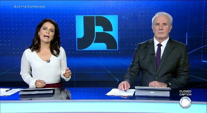 @AdrianaAraujo_ de volta #JornalDaRecord #VCnoJR