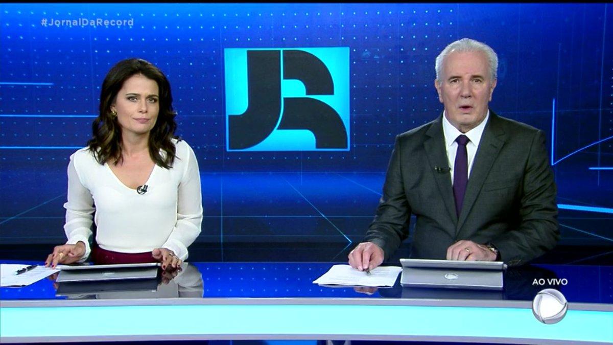 A Dupla titular junta novamente 😊#VcNoJR #JornalDaRecord