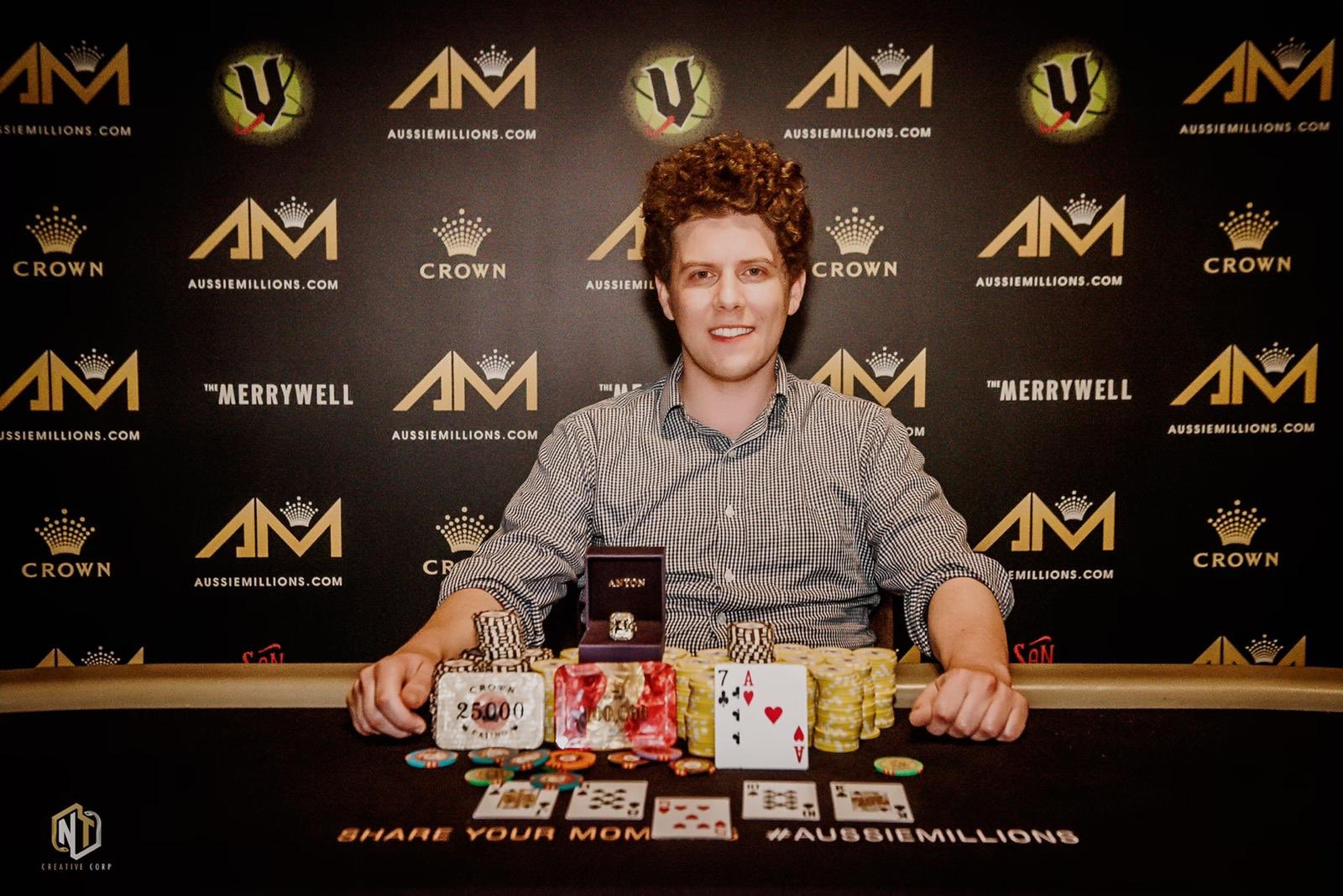 Crown Poker On Twitter Late Last Night Another Winner Was Crowned Huge Congrats To Honorary Australian Ariengelpoker Who Last Night Took Home Yet Another Piece Of Aussiemillions Jewellery By Shipping The Event